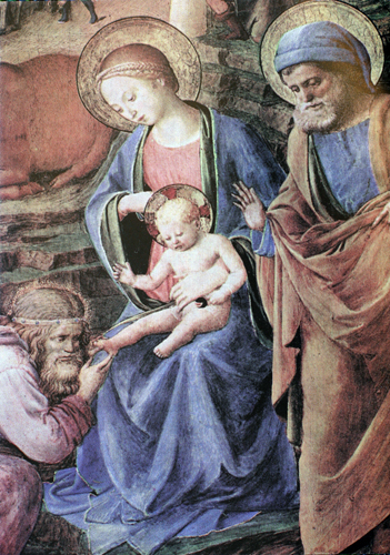 The Adoration of the Magi (detail)