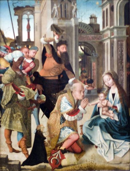 Adoration by the Three Kings