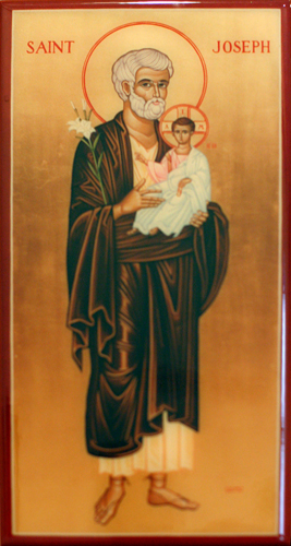 Saint Joseph with Child