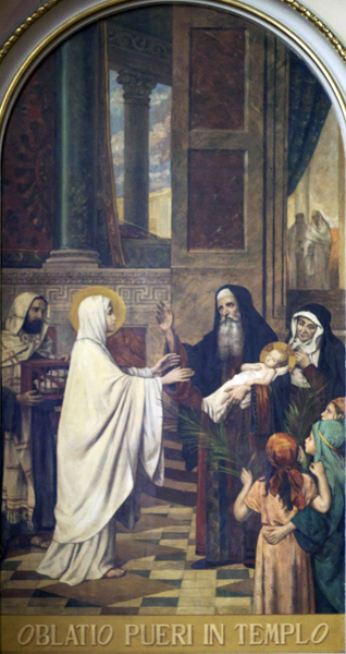 The Offering of the Child in the Temple