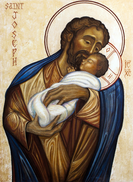 Saint Joseph and Jesus Christ, Son of God