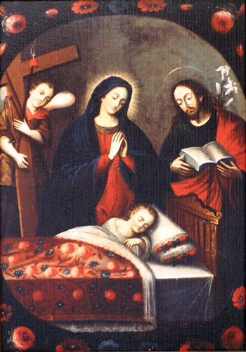 Adoration of the Sleeping Christ Child