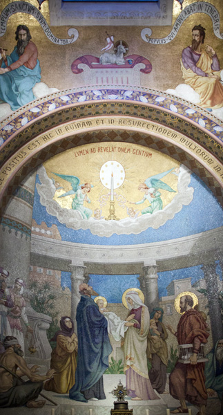 Jesus is Presented in the Temple