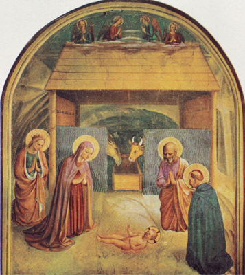 The Nativity with St. Peter Martyr, O.P. and Catherine of Alexandria