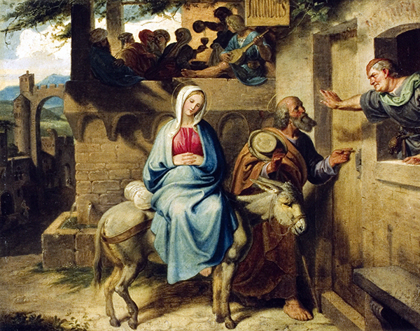 Arrival at the Inn in Bethlehem