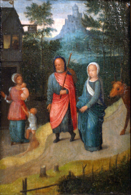 Joseph and Mary in Bethlehem