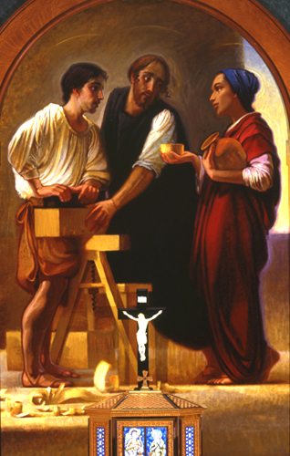 Youth: Jesus in the Workshop of St. Joseph