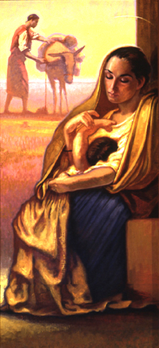 Infancy: Rest on the Flight into Egypt