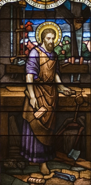 Life of St. Joseph, Window 1: The Just Man