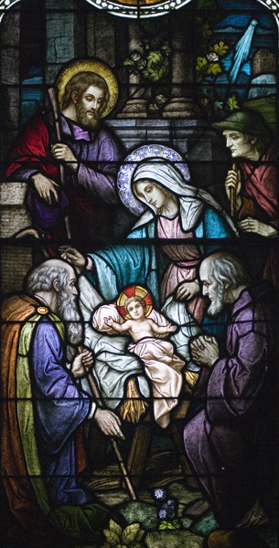 Life of St. Joseph, Window 3: The Birth of Christ