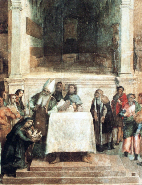 Presentation of the Baby Jesus in the Temple