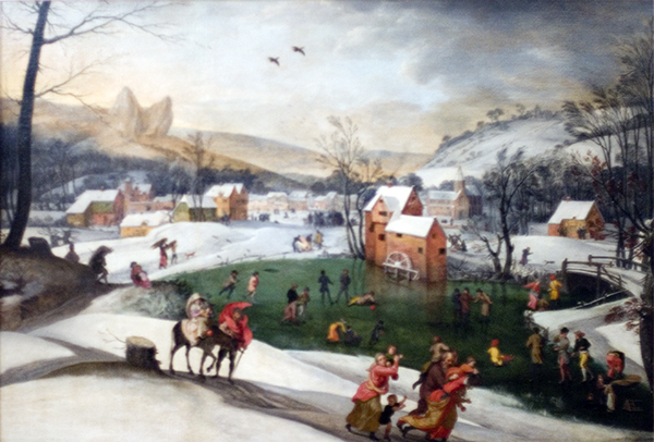 Winter Landscape with Flight into Egypt