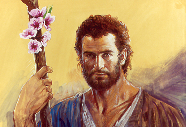 St. Joseph with Flowering Staff