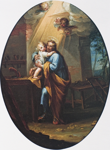 Sant Joseph and the Christ Child