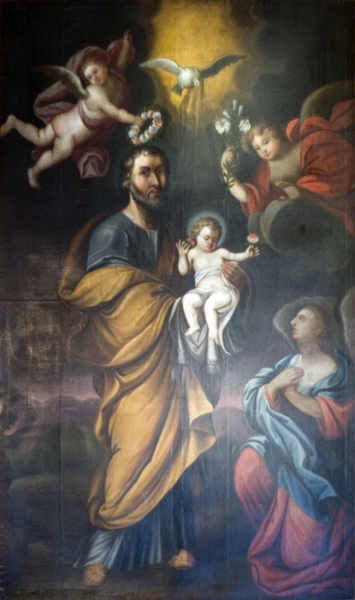 St. Joseph Crowned with Roses