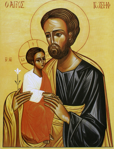 St. Joseph with Christ