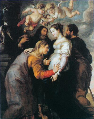Mary Greets Elizabeth