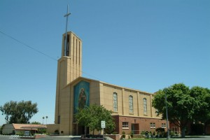 St. Joachim Church in Madera, CA, a parish staffed by the Oblates of St. Joseph since the 1930s.