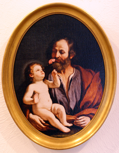 St. Joseph with the Christ Child
