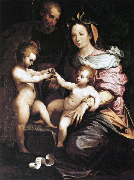 Our Lady with the Child, Little St. John, and St. Joseph