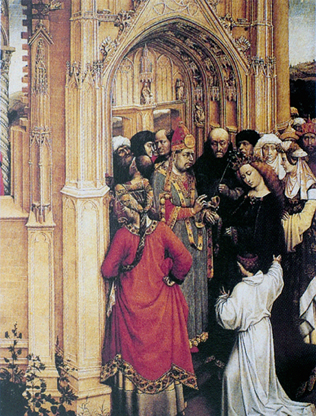 The Marriage of Mary and Joseph (detail)