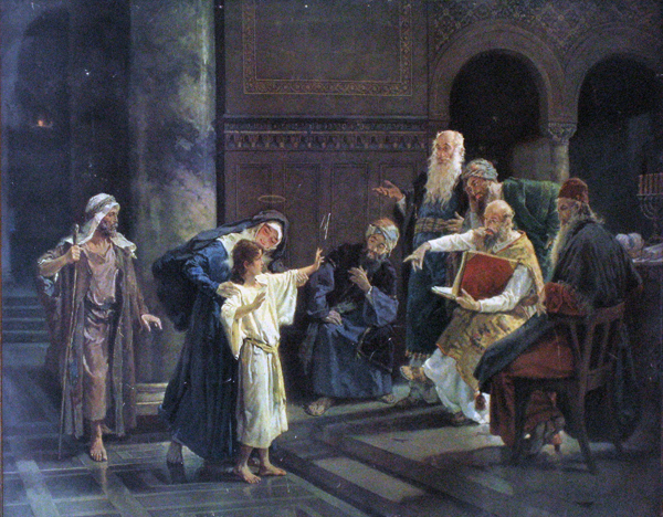 Christ and the Doctors in the Temple