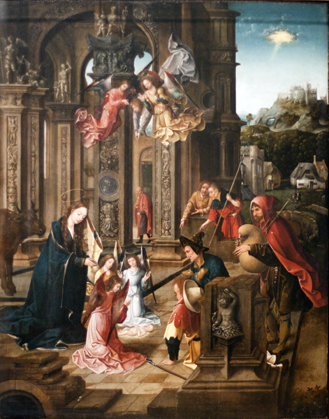The Adoration by the Shepherds