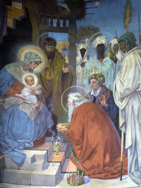 Adoration by the Magi