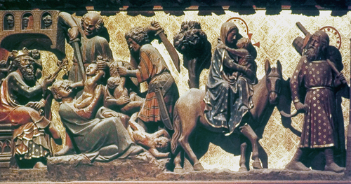 Flight into Egypt and Slaughter of Innocents