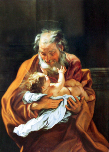 St. Joseph and the Infant Christ