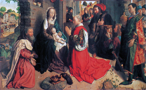 The Adoration of the Magi (Monforte Altarpiece)