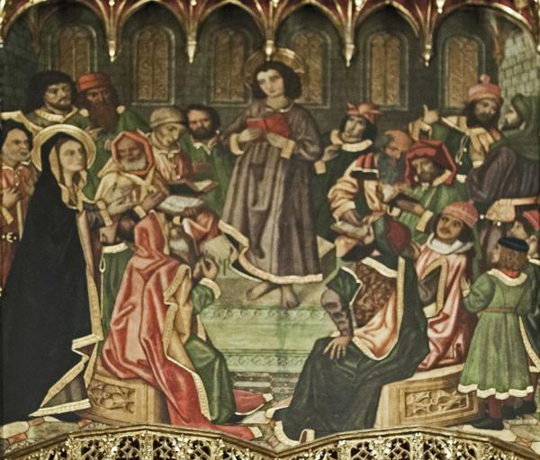 Jesus Amid the Doctors