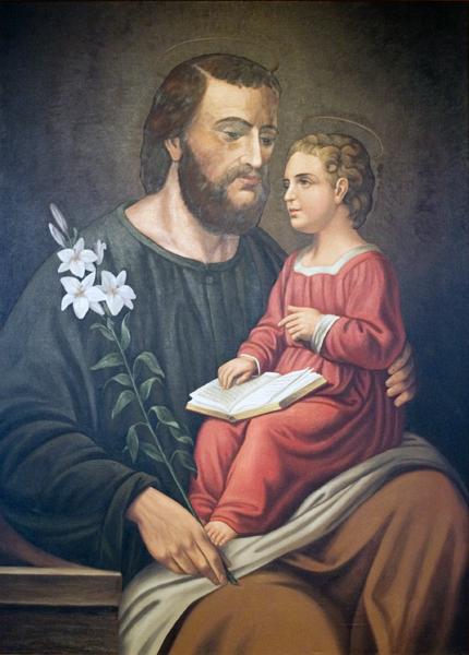 St. Joseph and Child