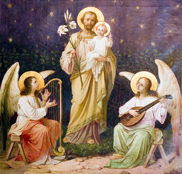 St. Joseph and Jesus and Angelic Music