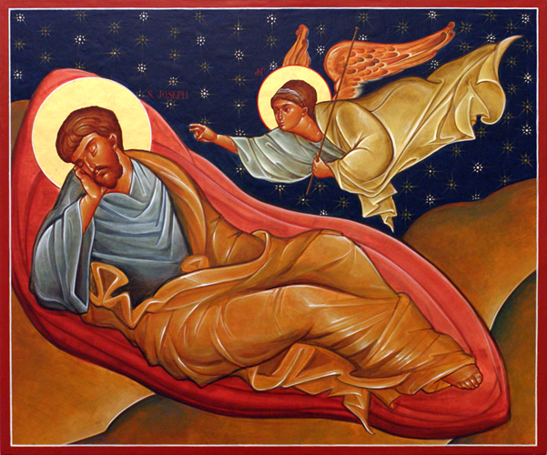 The Angel of the Lord Appeared to Joseph in a Dream