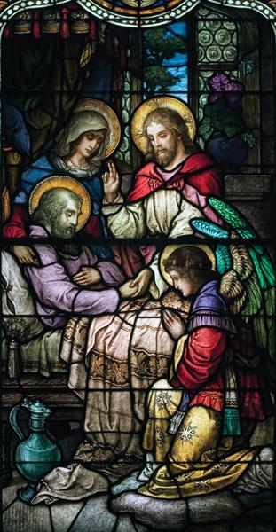 Life of St. Joseph, Window 10: His Death