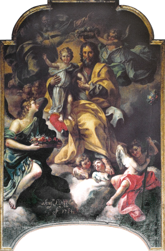 St. Joseph Crowned by God the Father