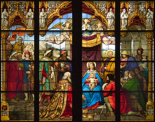 The Adoration of the Shepherds and Kings