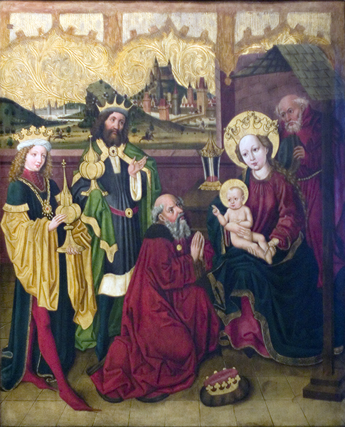 Adoration by the Magi, Legnica Polyptych