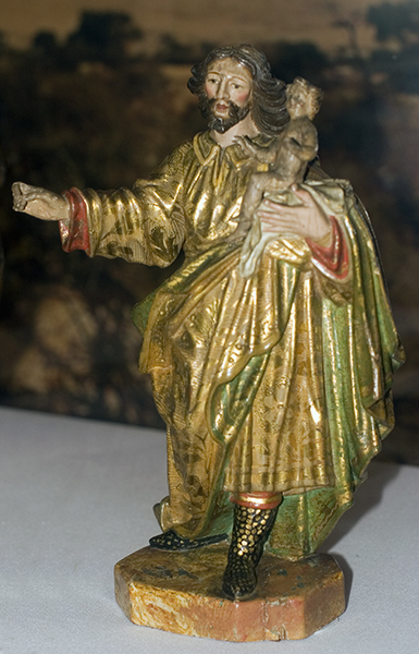 St. Joseph with Boots