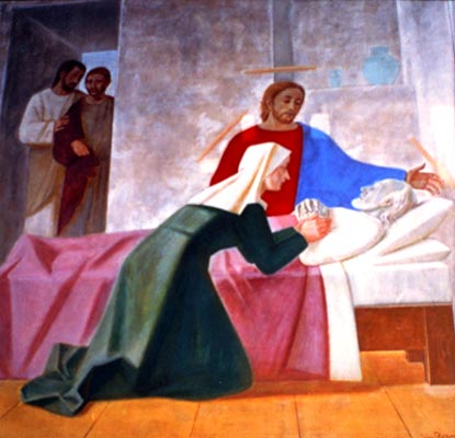 Death of St.J